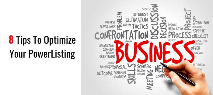 8 Tips to Optimize Your Business PowerListing