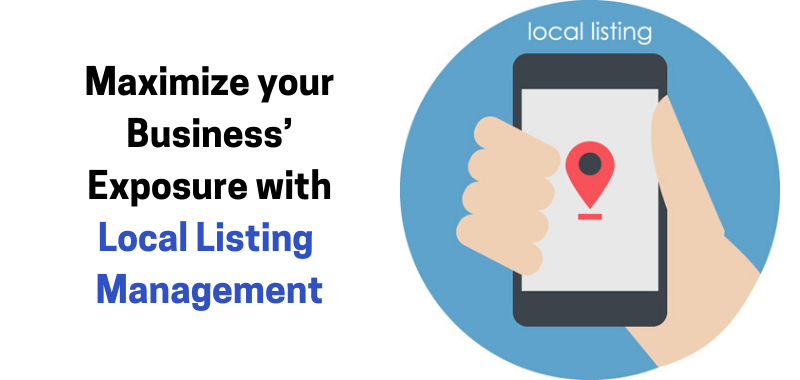 Maximize your Business' Exposure with Local Listing Management