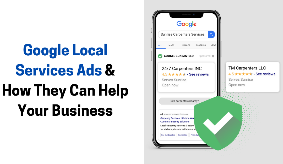 Google Local Services Ads & How They Can Help Your Business